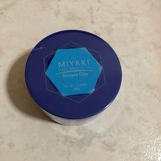 Hair wax clay