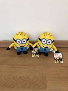 Minion soft toy