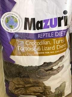 Mazuri Turtle and Tortoise Pellets 1 kg $13