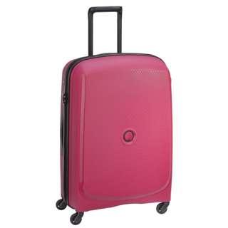 "Delsey Belmont Hard Case  PINK  76/28"" Spinner Luggage Tour Travel"