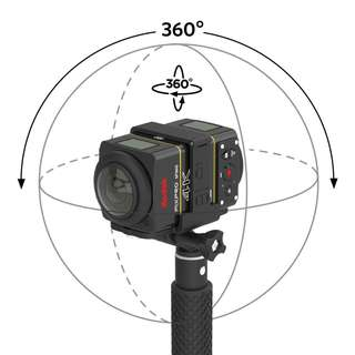 KODAK SP360 4K 360 Action Camera