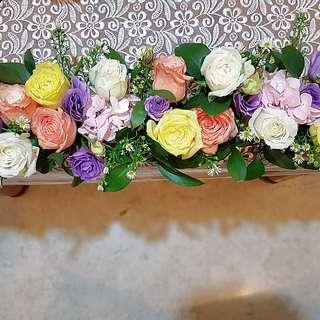 Wedding deco - Fresh Flowers