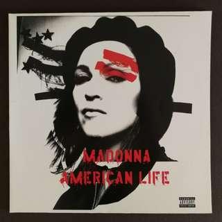 Madonna original lp record collectable