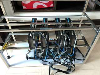 PRICE REDUCED! OVERCLOCKED MINING RIG