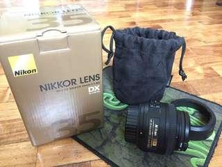 Nikkor 35mm camera lens