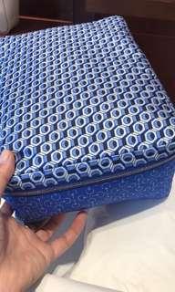 全新 Hermes Silk Travel Storage Bag