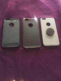 Casing jelly iphone 6 +