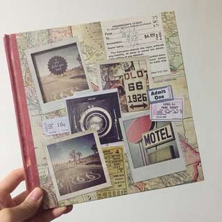 BN Typo Travelling Map Photo Journal