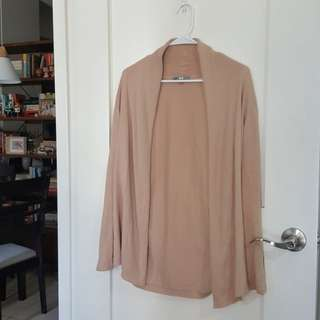 UNIQLO Beige Cardigan (Long)