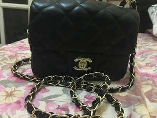 Chain Sling Bag black
