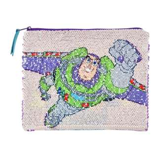 Japan Disneystore Disney Store Toy Story Sequins Accessories Pouch