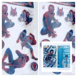 BN Spider-Man EZlink & 3D Stickers
