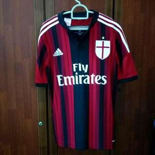 Original Ac Milan Jersey Honda Adidas Climacool #AUGUST75