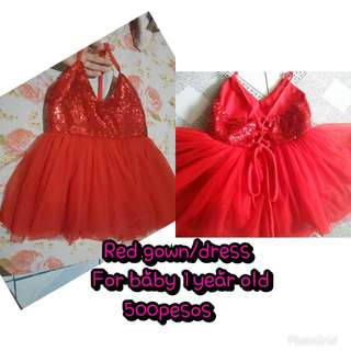 Red Gown/Dress