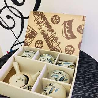 MASHIKO YAKI (益子焼茶器) VINTAGE TEA SET