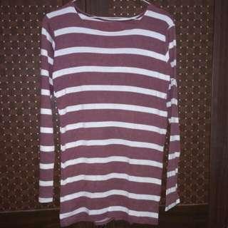 Kaos/sweater stripe