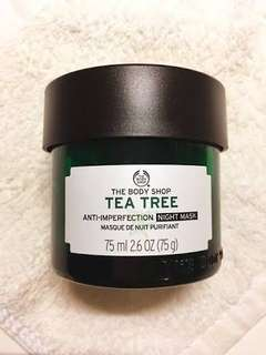 THE BODY SHOP TEA TREE SKIN CLEANSING NIGHT MASK