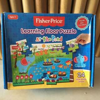 Fisher Price Learning Floor Puzzle