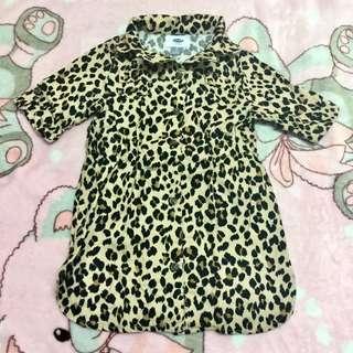 Old Navy leopard toddler kids dress