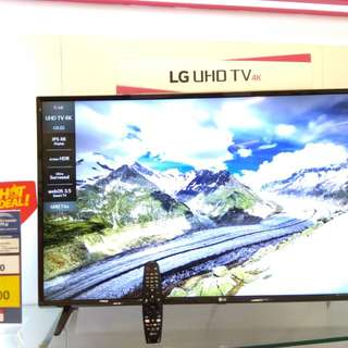 "LG Smart TV 43"",49"",55"" with magic remote.cicilan Dp10%+Free 1X angsuran"