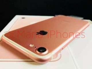 iPhone 7+ 32GB & 128GB Openline