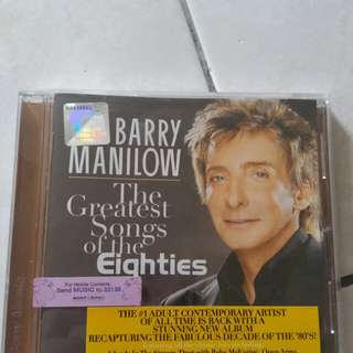 BARRY MANILOW the greatest songs of the 80s