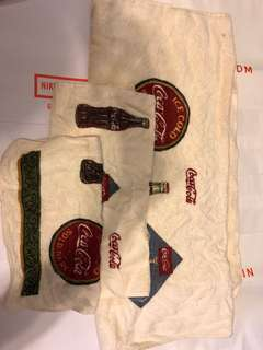 Set of 3 Coca Cola towels small medium large