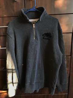 Roots Sweatshirt quarter zip