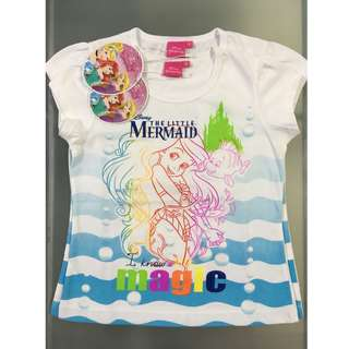 Disney The Little Mermaid Aerial T-Shirt Size 6, 8