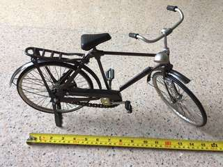 Antique bicycle display