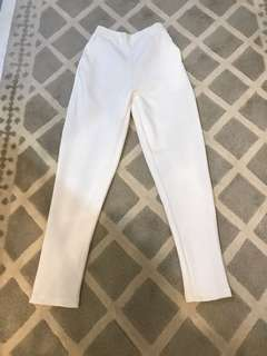 NEW scuba pants white