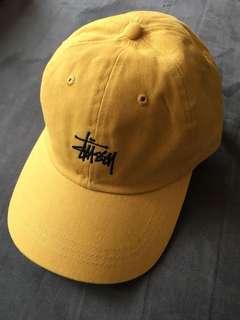 Stussy cap帽(芥末黃)