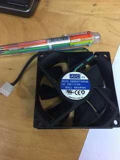 AVC 80mm ball bearing fan for pc