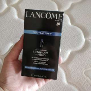 Lancome Genifique sensitive dual