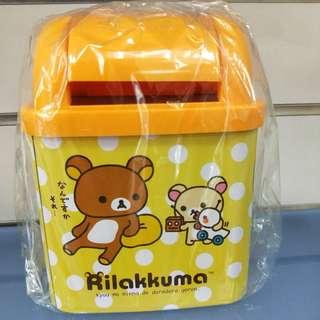 拉拉熊小垃圾桶