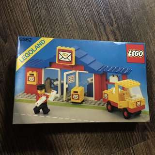 Lego 6362 Post office Classic Town