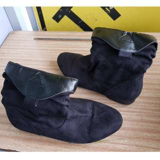 Womens Boots Black New Look USED
