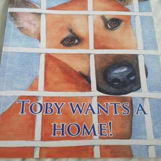 Toby wants a home