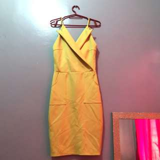 Apartment 8 Yellow dress