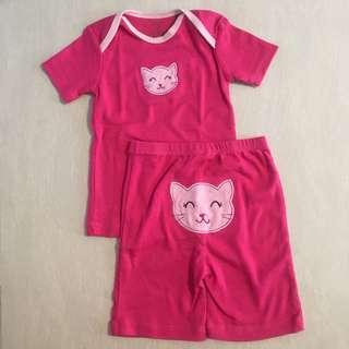 BN Baby Girl Set (12-18m)