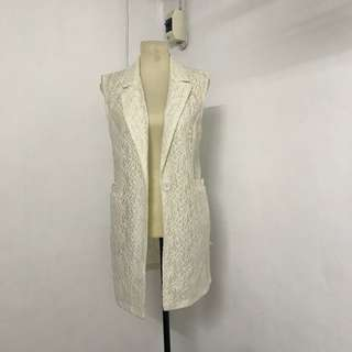 SALE 20% OFF: Lace Vest