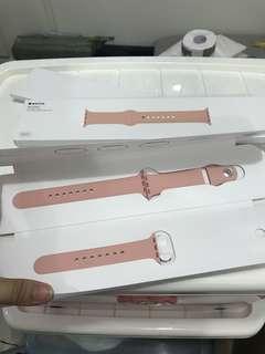 全新原裝 Apple Watch ⌚️ 粉紅色 錶帶