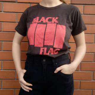 Faded Black Flag T-shirt