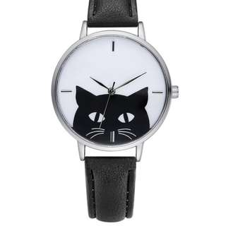(PRE-ORER) Black Cat Watch - 4 Colors