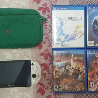 Ps Vita 2006 with Games