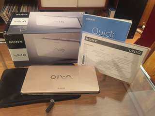 As new Sony Vaio 8""
