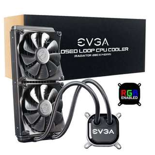 EVGA 280 Closed Loop CPU Cooler 水冷