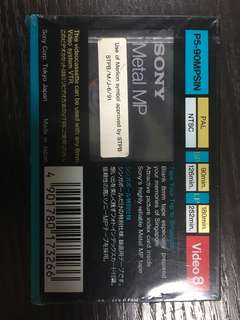 SONY blank tape (never used) $1 for each