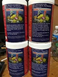 Suppliments for Reef Aquarium all-in
