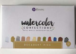 WATERCOLOUR CONFECTIONS PAN SET